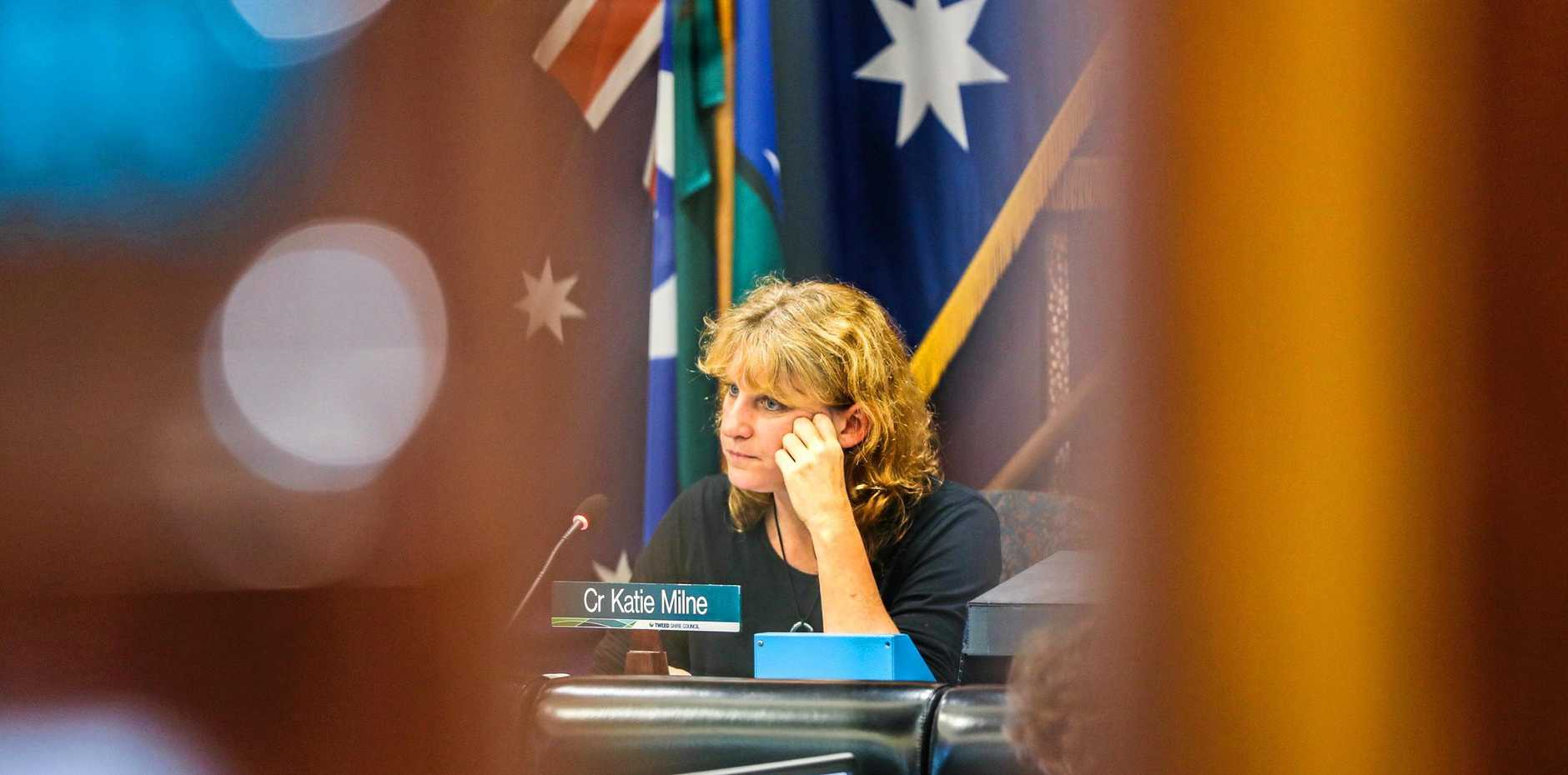 MAYORAL MINUTE: Tweed Mayor Katie Milne has been criticised for using her sway to get a motion put back on the table.
