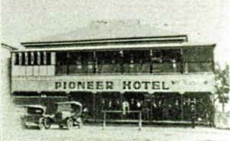 The Mirani Hotel was previously known as the Wesche's Boarding House and the Pioneer Hotel