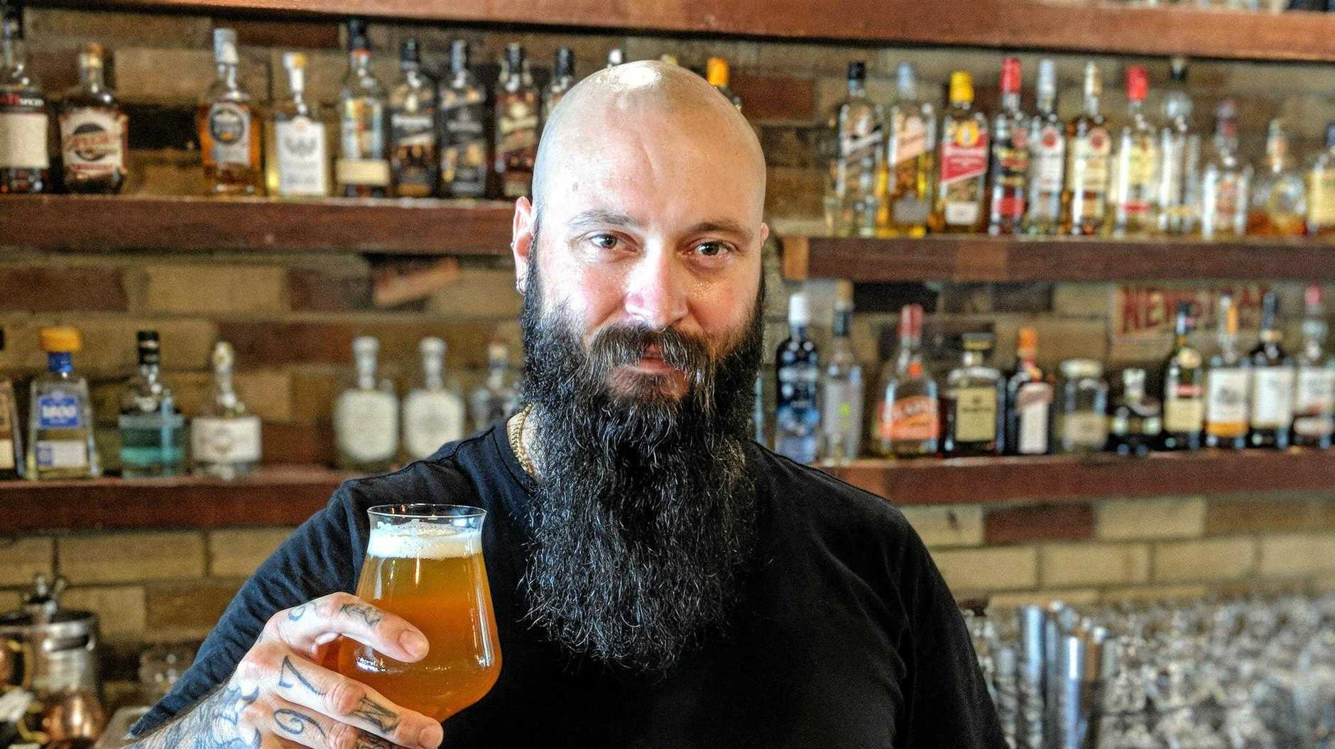 Jason Bird, the new owner of The Paddock and Brew Company in Mackay .