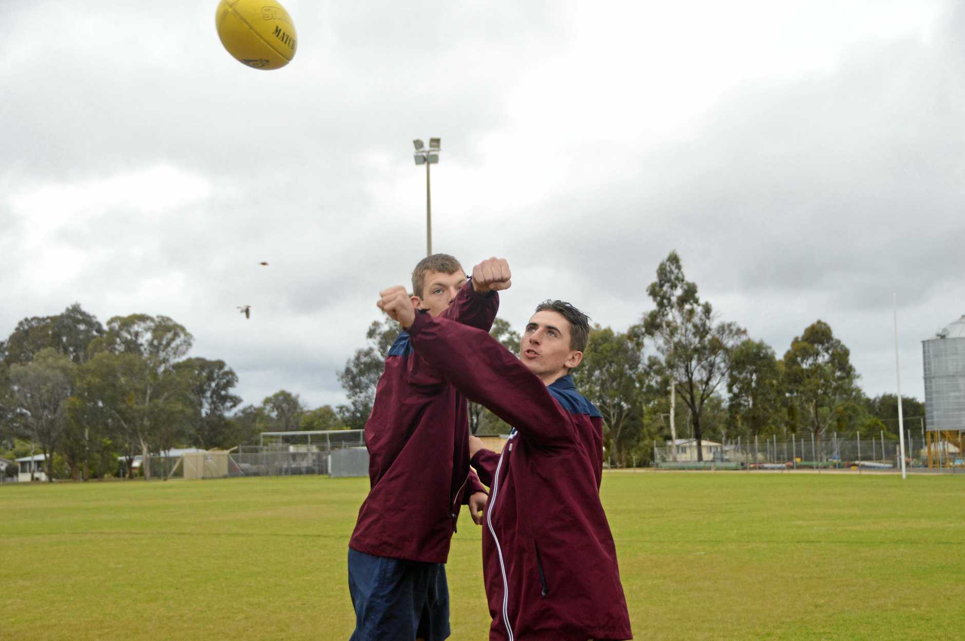 South Burnett boys Shaun Pakallus and James Packer are proud to  represent Queensland and motivated to see what the future holds.