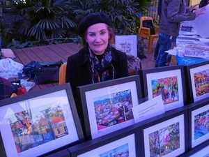Toowoomba artists chill out at winter art school