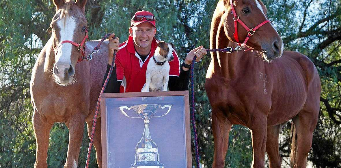 PROUD HOST: Matthew Sample won the Tom Quilty Cup in 2009 and owns Stirling's Crossing Equestrian Complex.