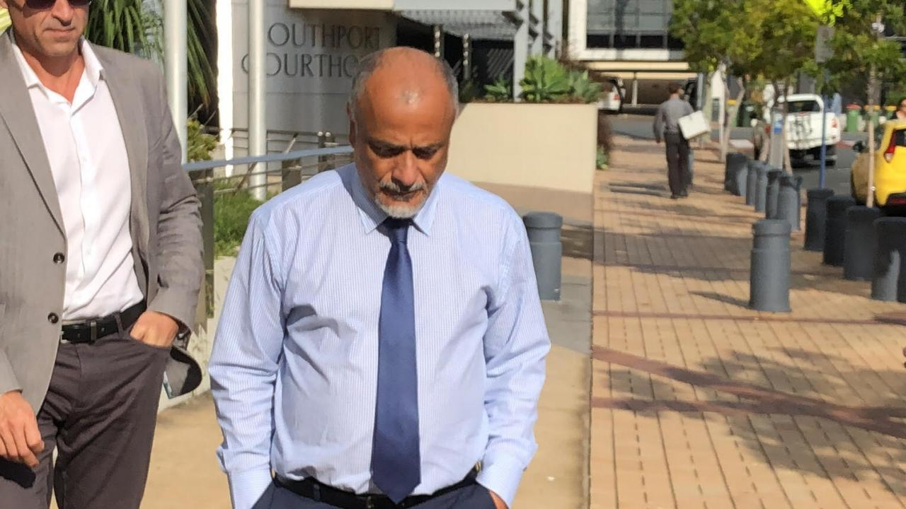 Ashraf Mohamed Hanafy, 57, leaves Southport Magistrates Court on Tuesday.
