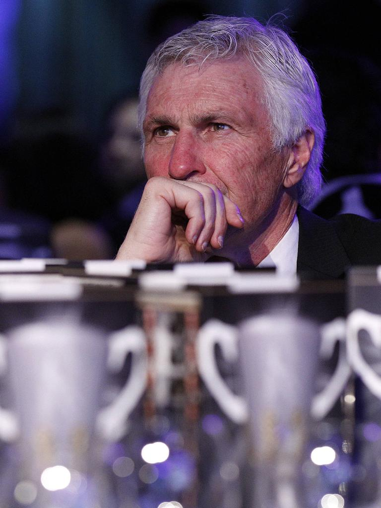 Collingwood's grand final dinner was the last supper for Malthouse.
