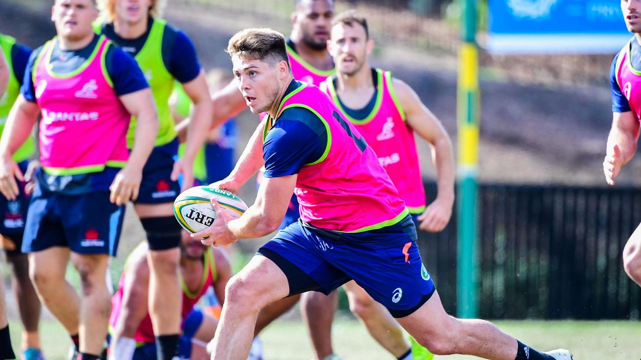 James O'Connor has been welcomed back into the Wallabies set-up. Photo: Stu Walmsley, Rugby Australia.