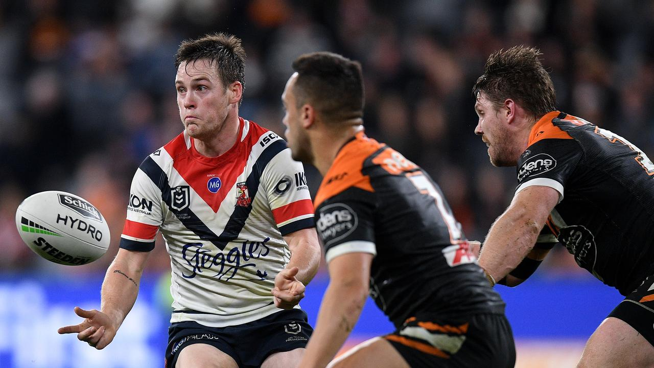 Keary was excellent for the Roosters on return. AAP Image/Dan Himbrechts.
