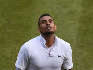 Question that left Kyrgios speechless