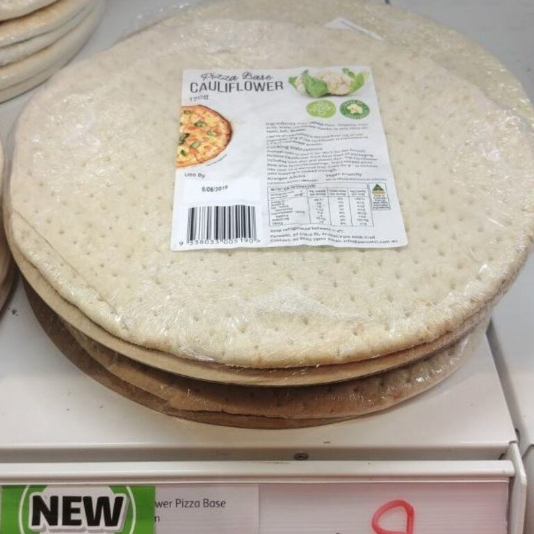 There's also a cauliflower version. Picture: Coles/NewProductsAustralia