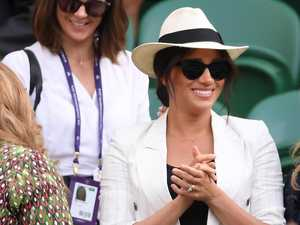Duchess' surprise Wimbledon visit