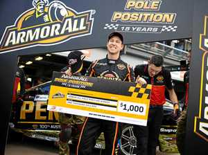 Reynolds takes pole position in Townsville