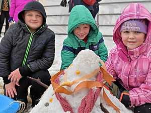 PHOTOS: Snow much fun at festival day two