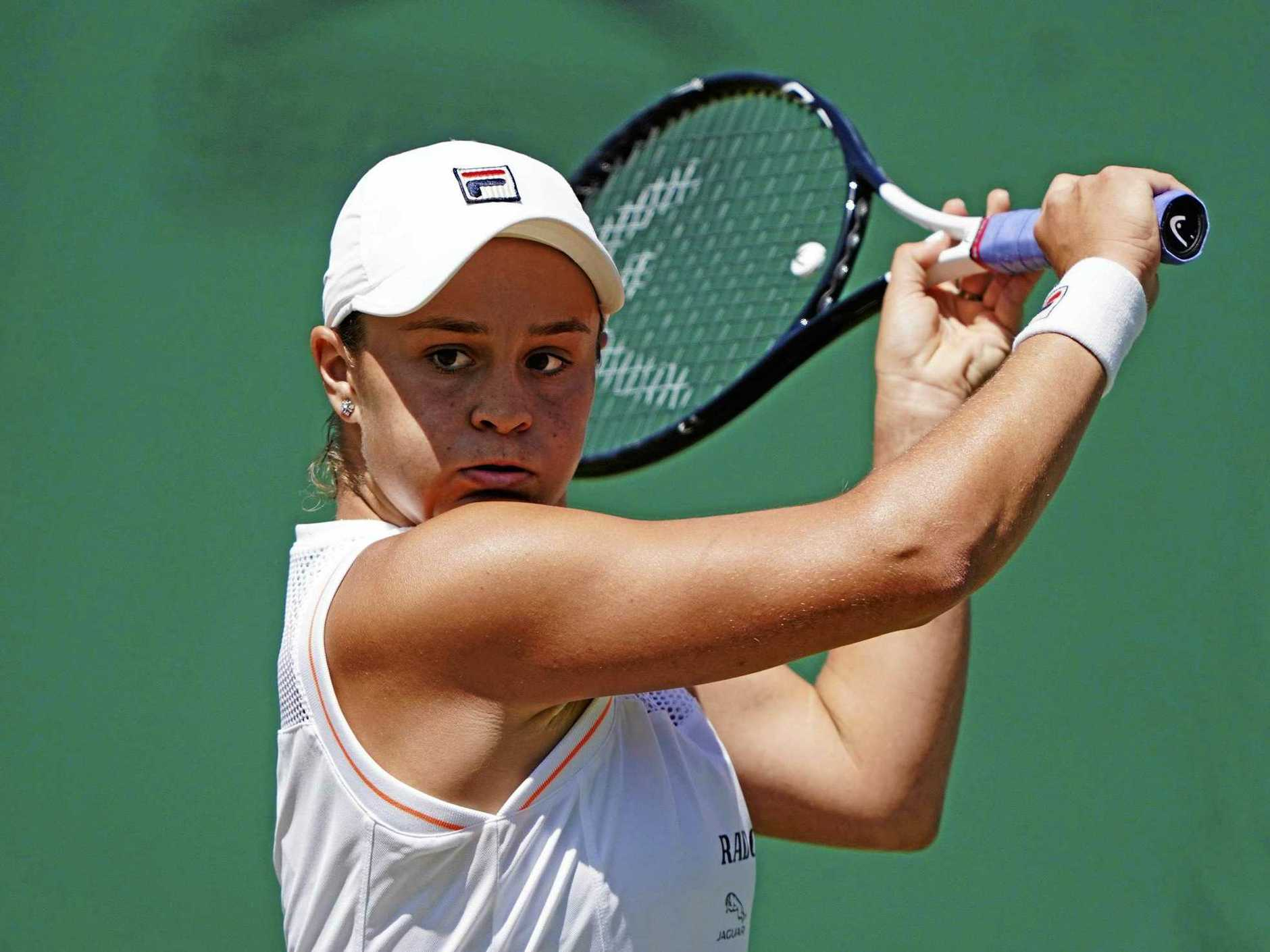 Ashleigh Barty has made an amazing rise in the past three years. Picture: Atsushi Taketazu/AP
