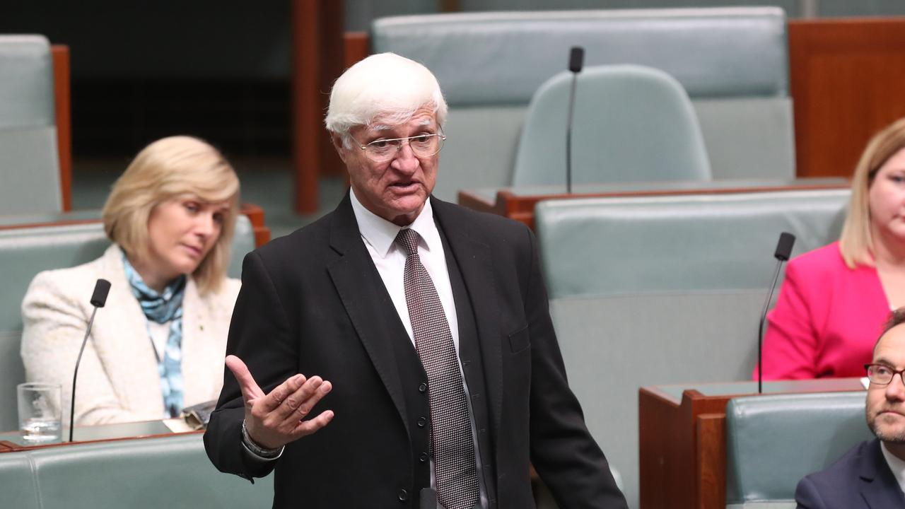 Kennedy MP Bob Katter has a point worth heeding. PICTURE: KYM SMITH