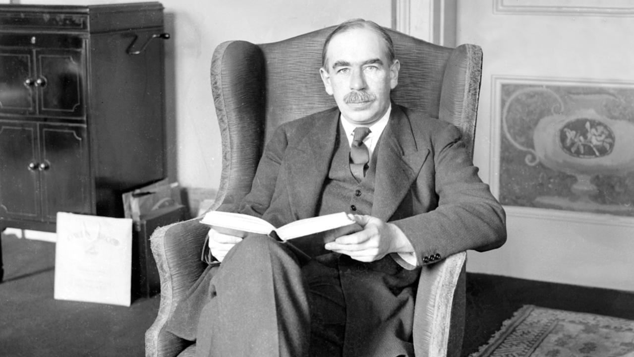"John Maynard ""Pay Them To Dig Holes"" Keynes. PICTURE: PLANET NEWS ARCHIVE/SPPL/GETTY IMAGES"