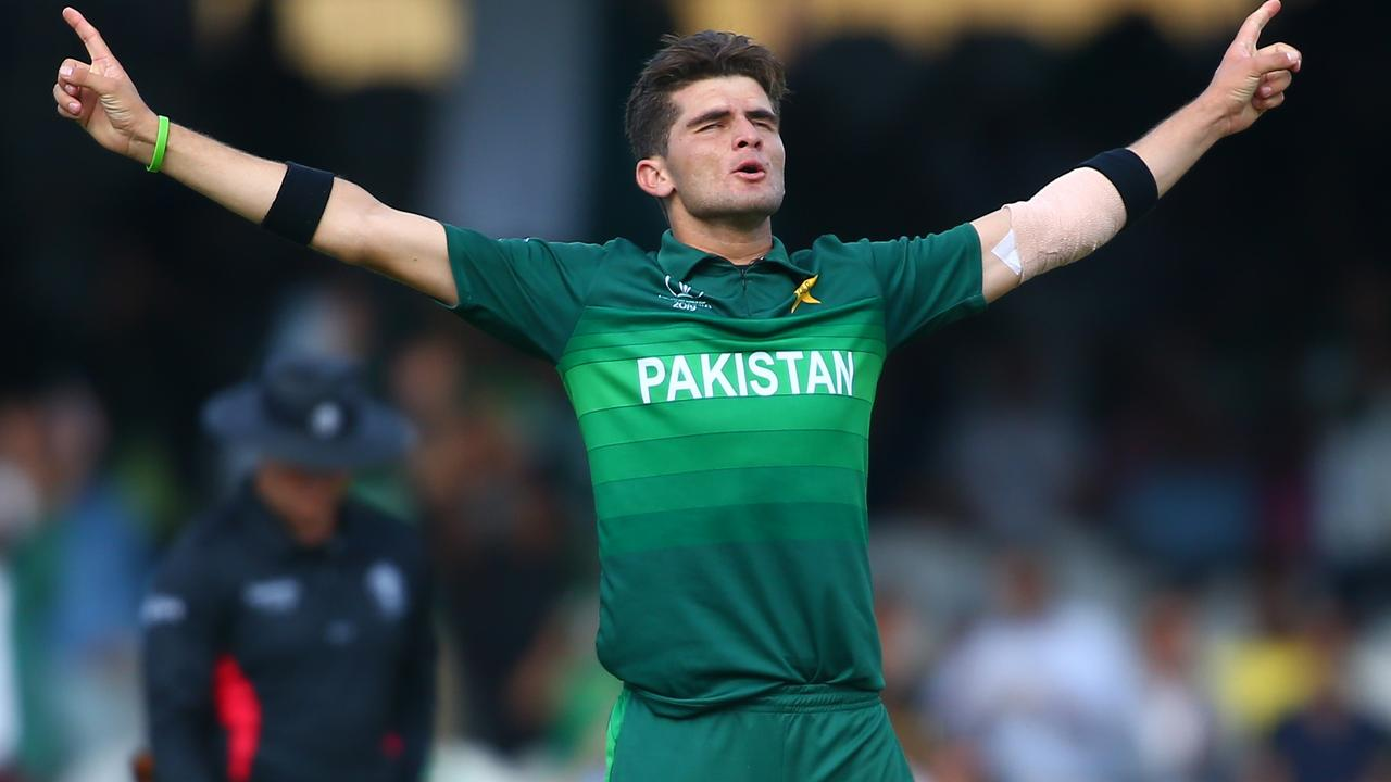 Pakistan's Shaheen Afridi finished with 6-35.