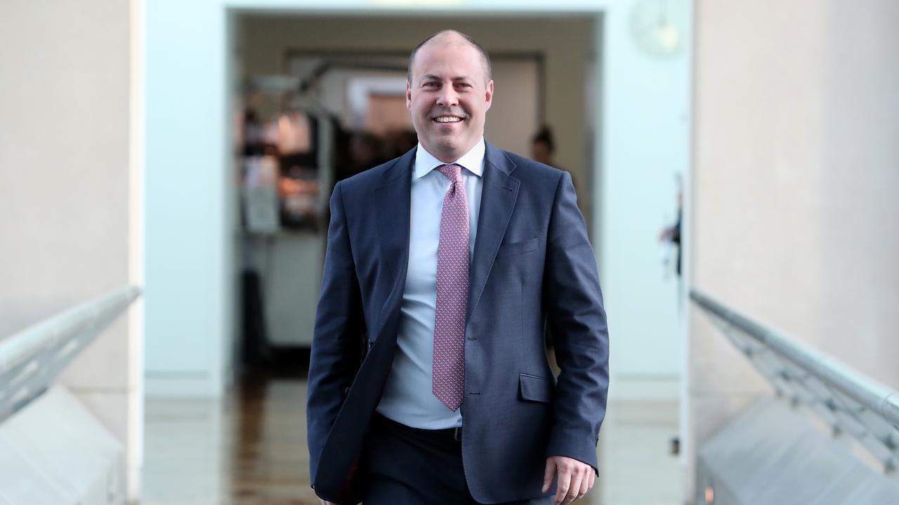 Treasurer Josh Frydenberg is riding high on the wave. PICTURE: KYM SMITH