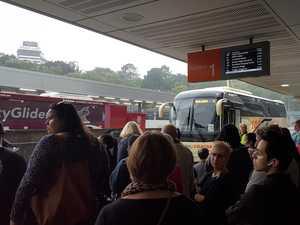 Track closures cause major delays