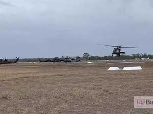 Black Hawks at Rockhampton Airport