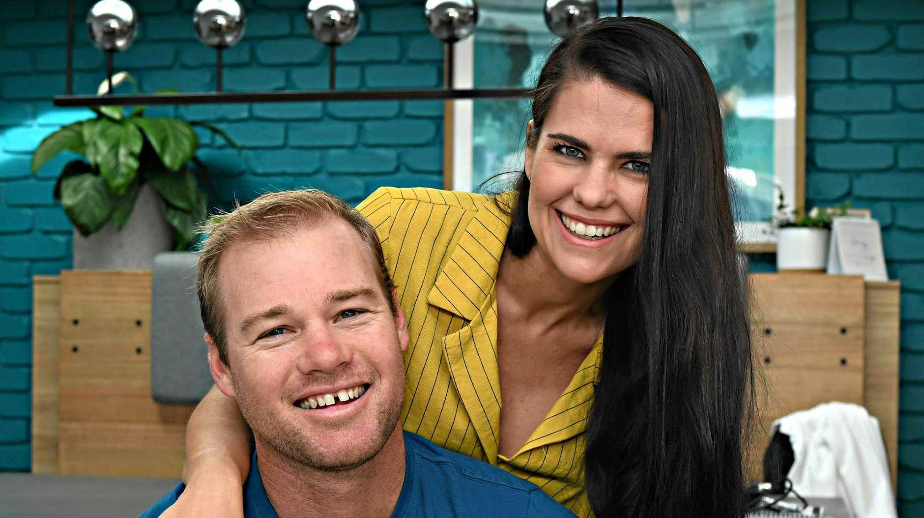 MAKEOVER: Sunshine Coast's House Rules contestants Shayn and Carly Clark.