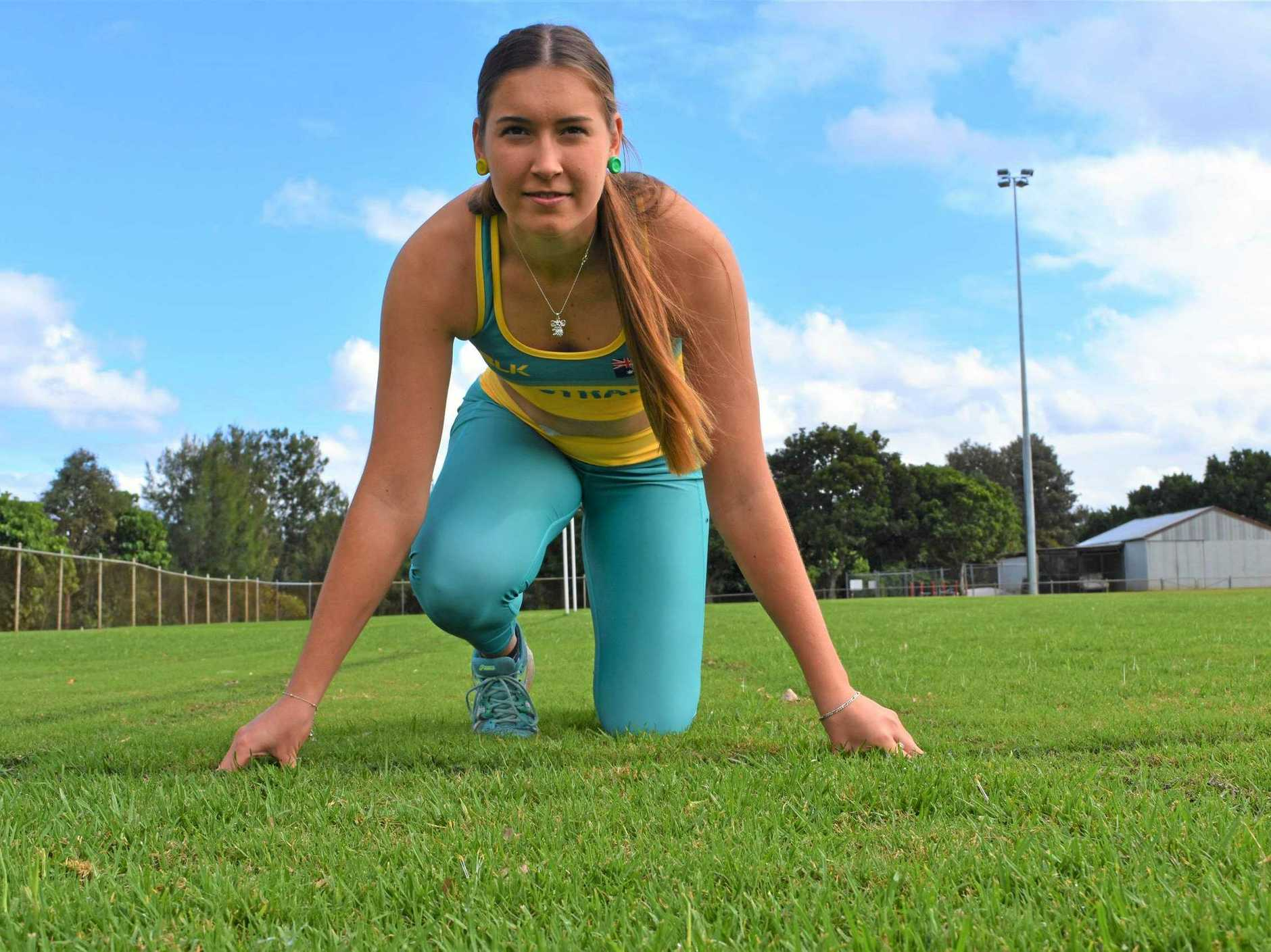 Gympie athletics - Chantelle Chippindall focused on getting to the international stage at Worlds in 2020.