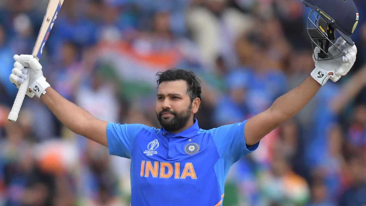 Rohit Sharma is the first man to score five centuries in a single World Cup.