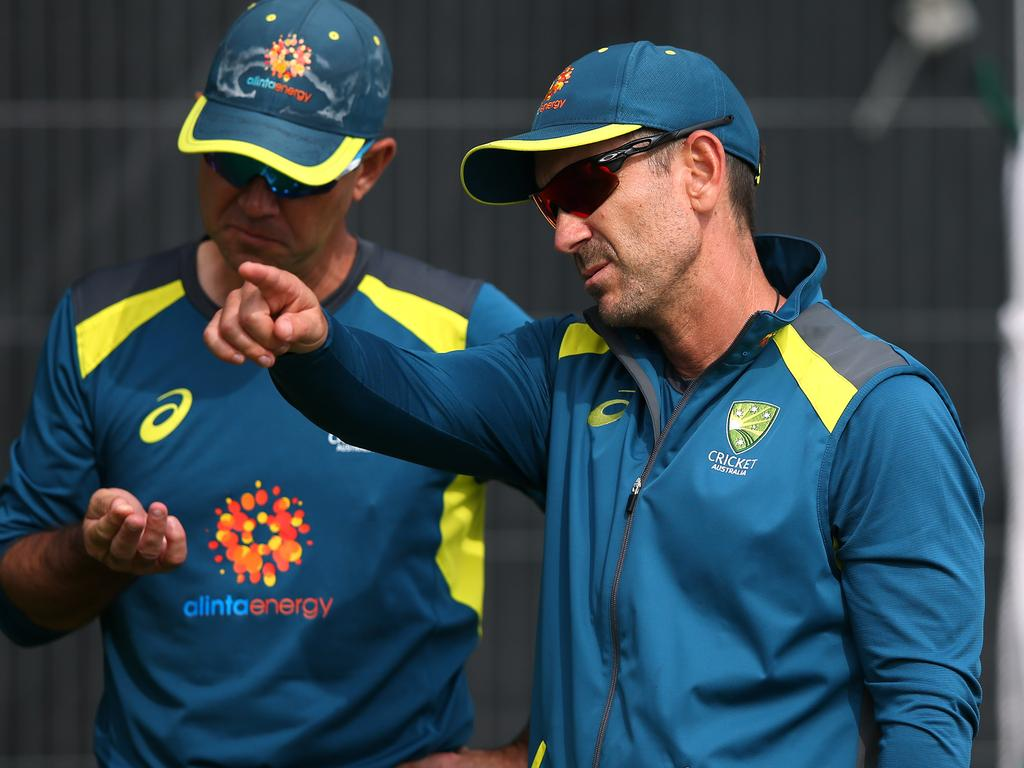 Coach Justin Langer and assistant Ricky Ponting have a couple of big decisions to make.