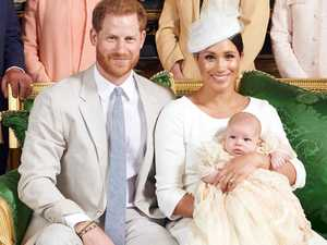 Big absence at Archie's christening