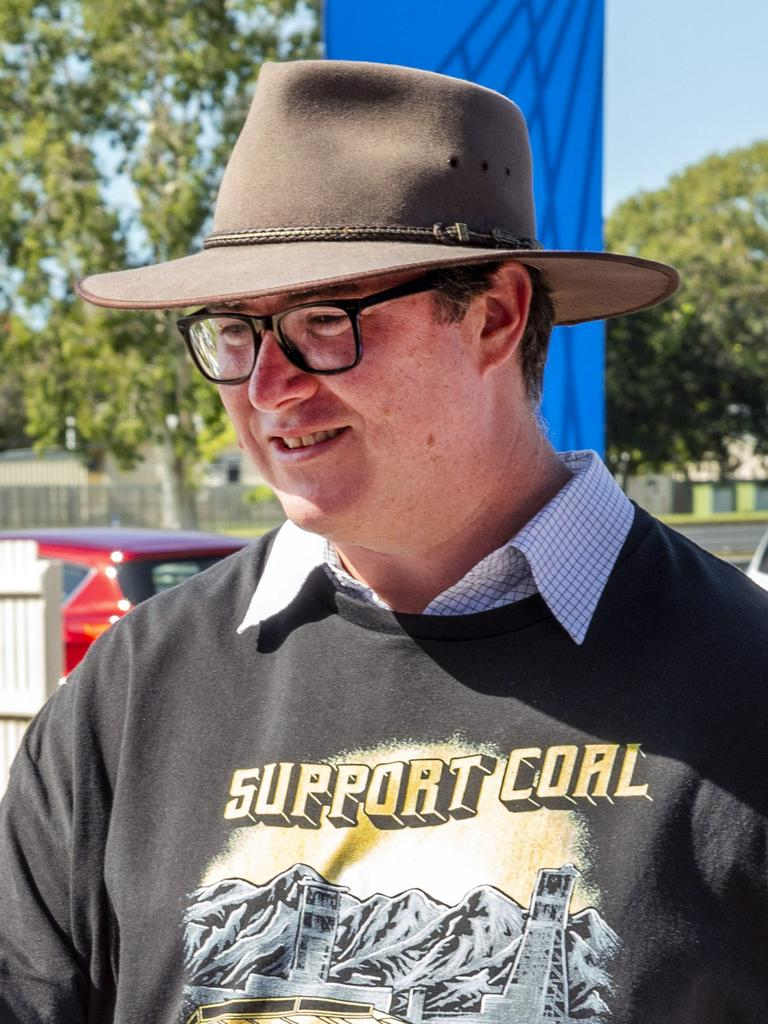 LNP MP George Christensen spent $2700 on Comcars in four months. Picture: Daryl Wright