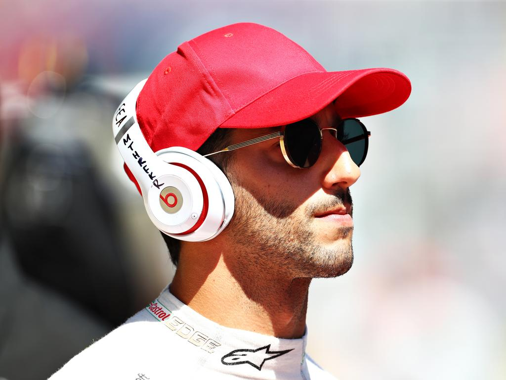 Ricciardo in a red hat — I think we know what this means …
