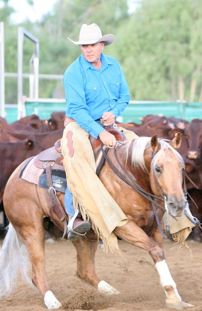The pilot was Peter Gesler, 59, from Greymare in south-east Queensland, a well-known and highly respected horseman at the Warwick Rodeo.