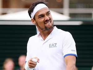 Foul Fognini's Wimbledon bomb 'threat'