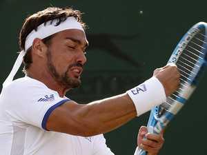 Filthy bad boy's Wimbledon 'bomb'
