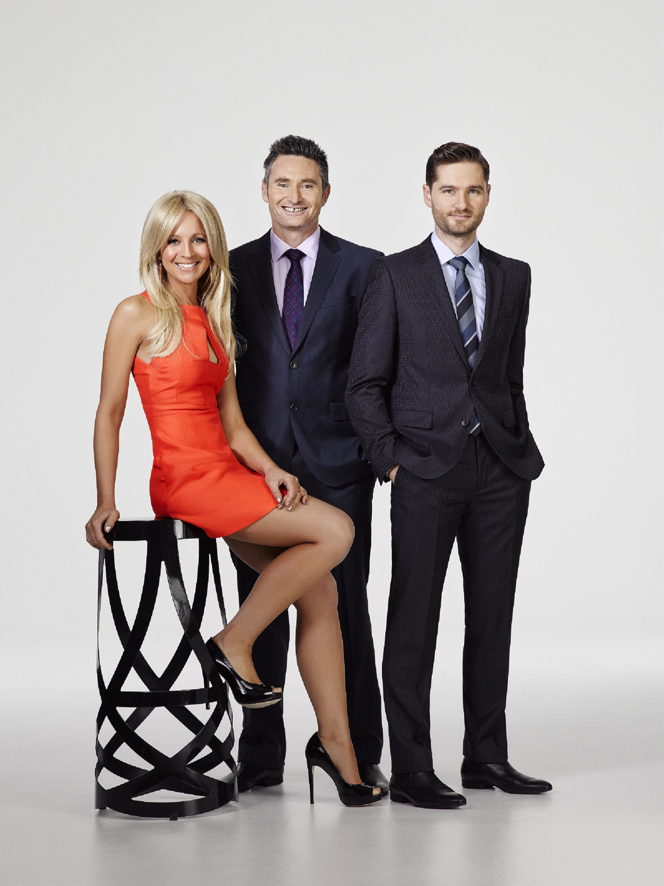 The Project's early trio of Carrie Bickmore, Dave Hughes and Charlie Pickering.
