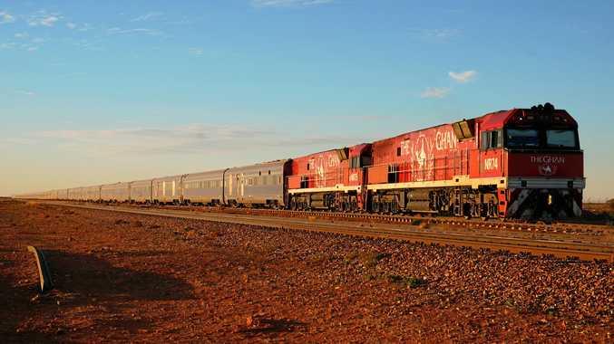 Epic Aussie rail journey spans this vast continent