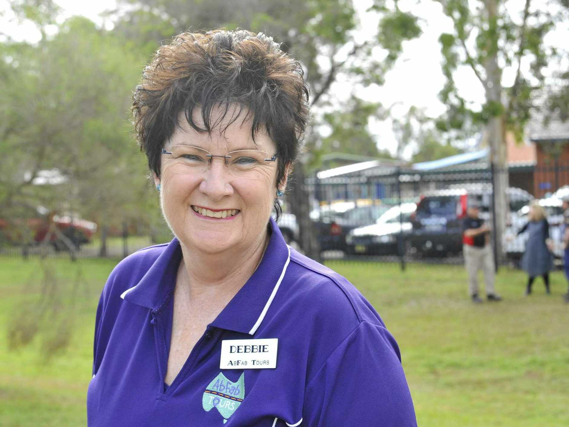 FINALIST: Debbie Bowling from AbFab Tours is one of the finalists for  The Daily Examiner  People's Choice Awards.