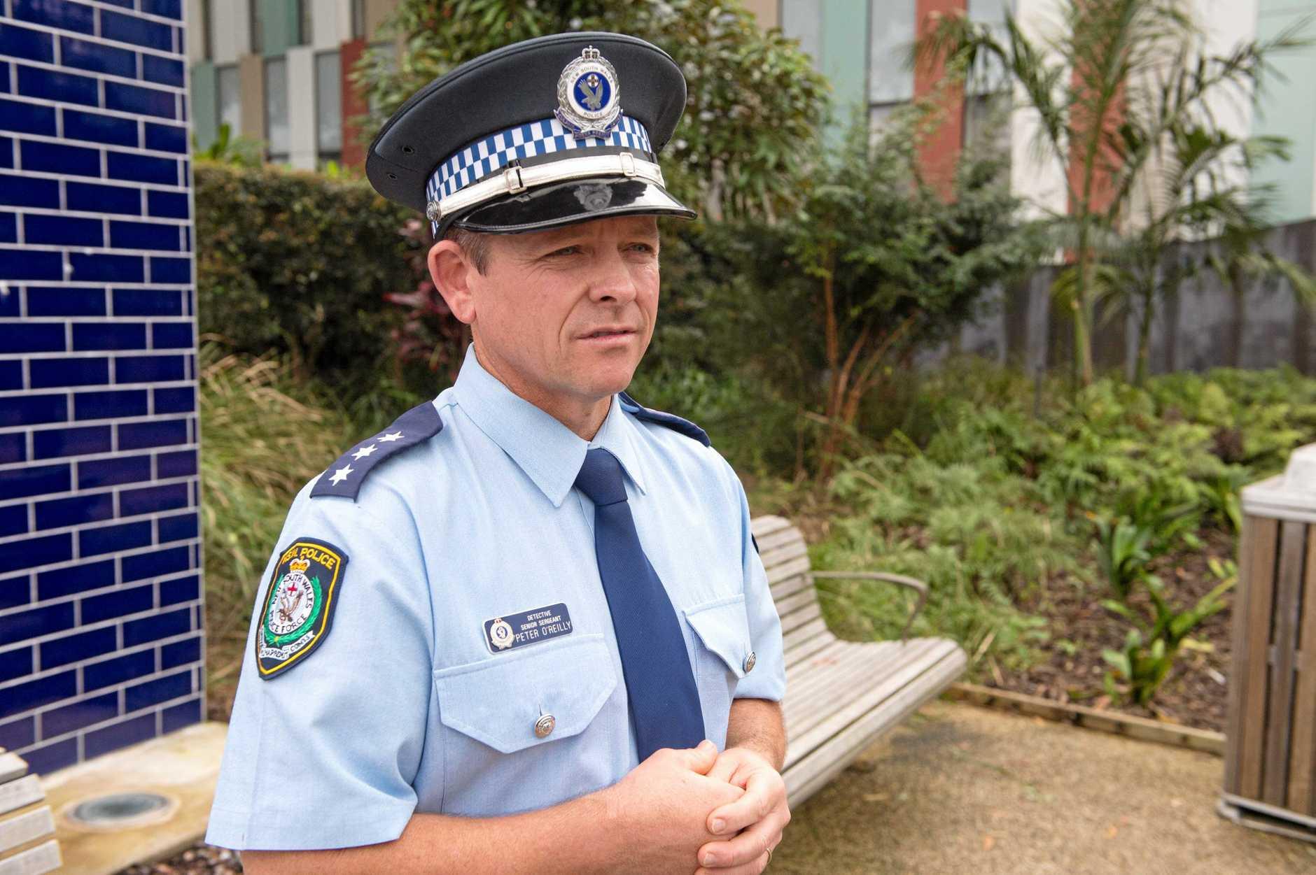 Detective Senior Sergeant Peter O'Reilly. 06 JULY 2018