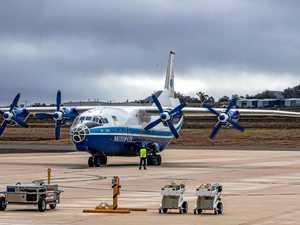 Wellcamp staff scramble to land Russian cargo plane