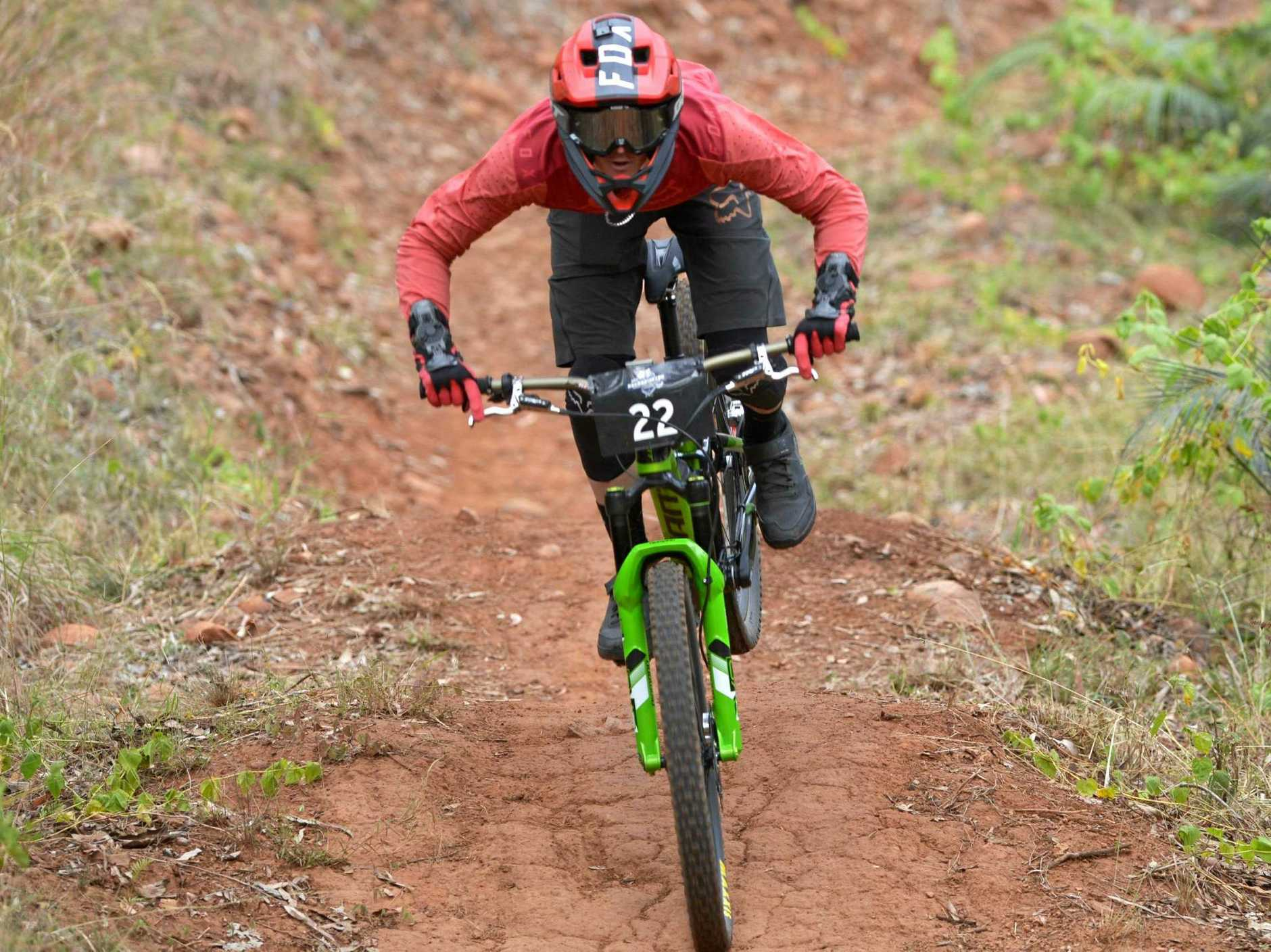 HOT PROSPECT: Rockhampton's Cody White is expected to be right in the mix in the elite men's category in Round 4 of the Queensland Enduro Series to be raced on the First Turkey trails on Sunday.