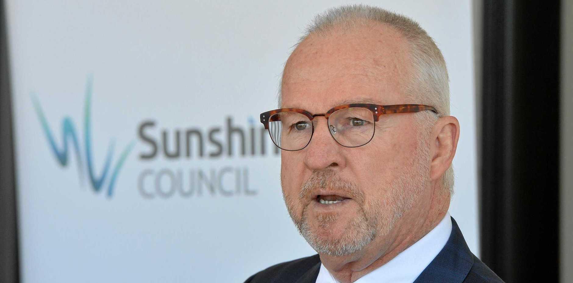 Official launch of the Baringa Community Centre. Sunshine Coast Mayor Mark Jamieson.