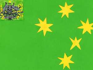 Why this should be our new flag: Bundy woman's bold design