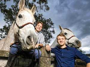 Brothers ride into history for renowned endurance test