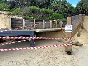 NO-GO ZONE: Stay away from popular beach after major erosion