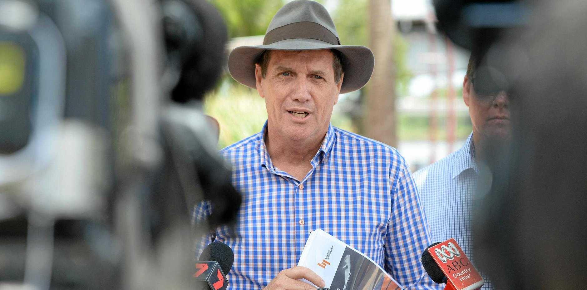 Minister mines Anthony Lynham.