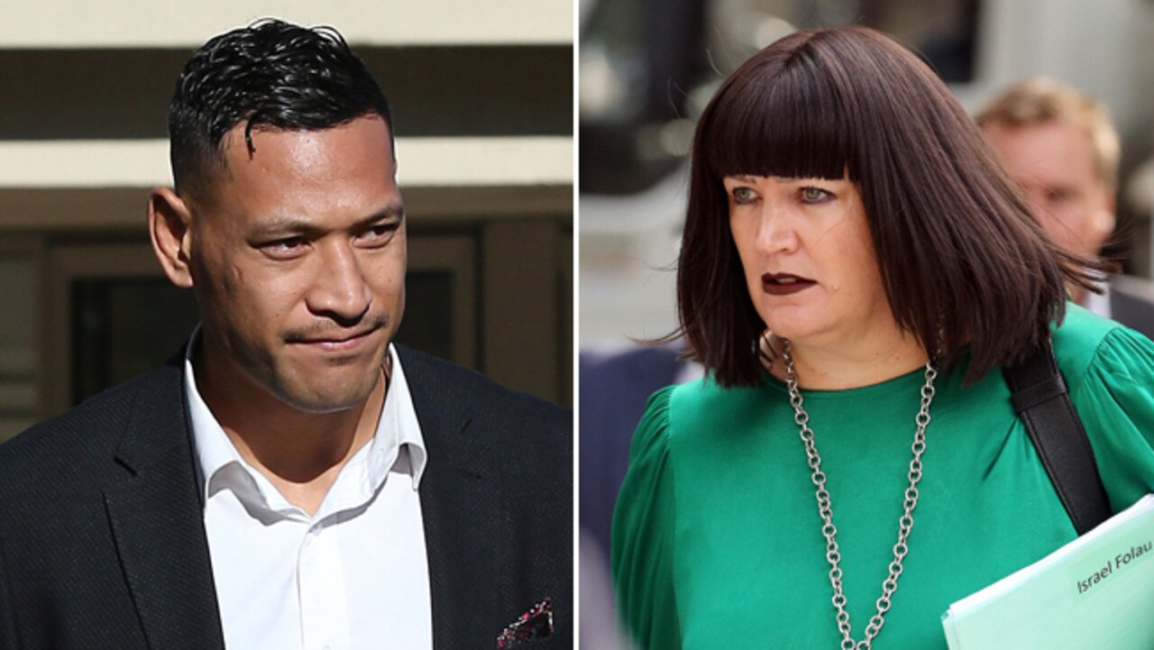 Israel Folau and Raelene Castle are headed for further clashes.