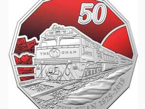 New 50c coin's striking feature