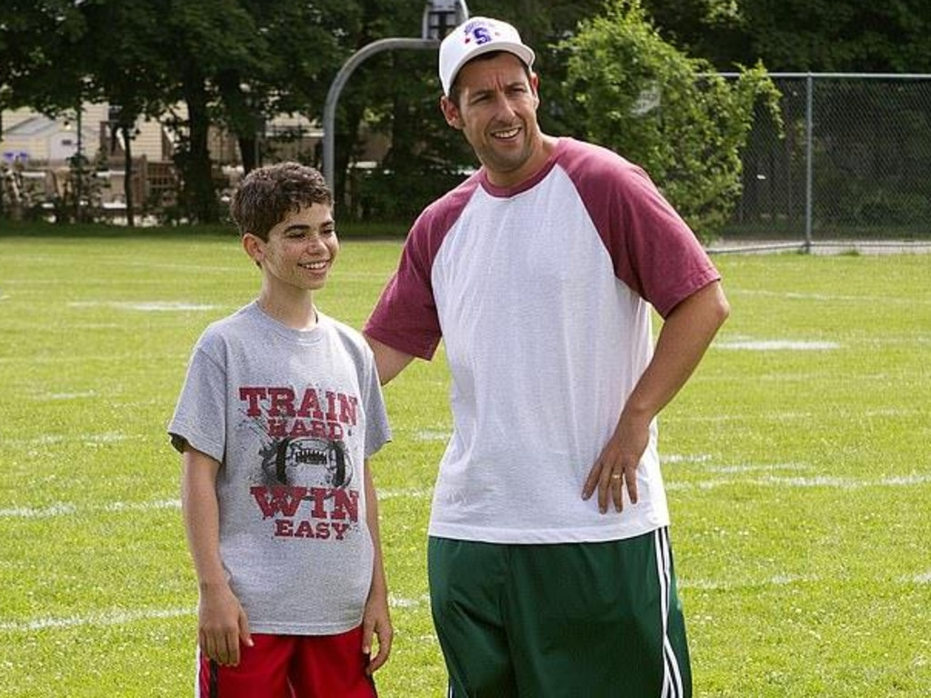 Adam Sandler and Cameron Boyce in Grown Ups. Picture: Supplied