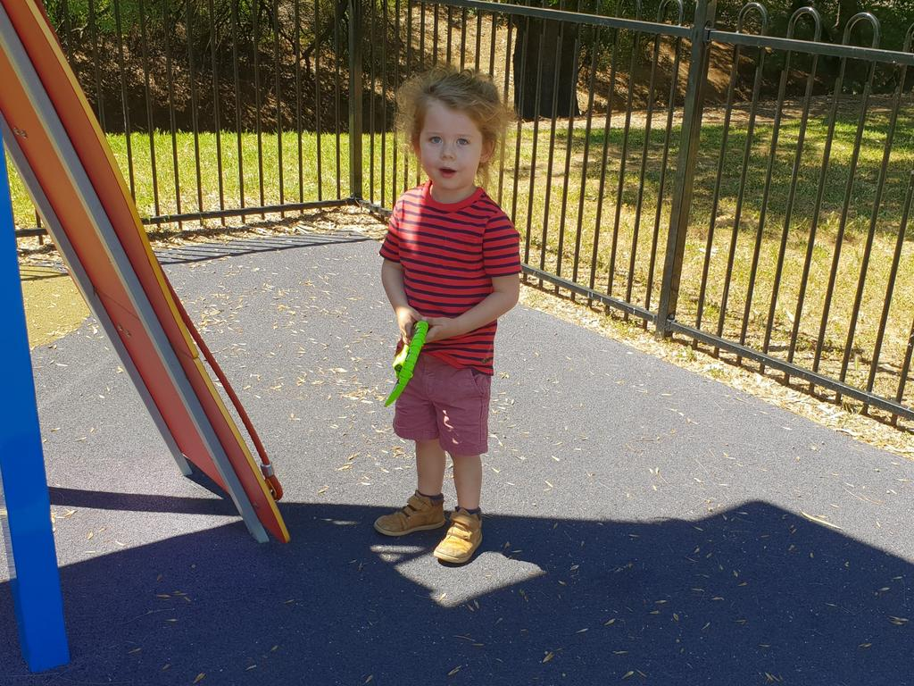 The Australian Federal Police and the Federal Circuit Court of Australia are seeking public assistance to help locate Thomas Alexander Bakyrey, 4. Picture: Supplied by the Federal Circuit Court