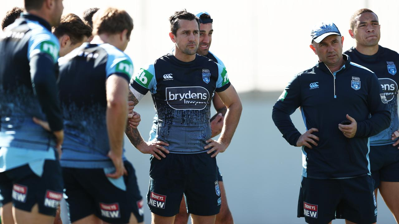 Mitchell Pearce will have a whole state willing him on. Image: Matt King/Getty Images