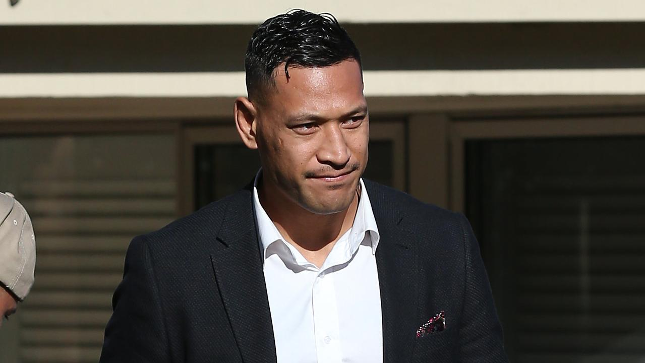 Israel Folau has vowed to continue the fight against his contract termination. Picture: David Swift