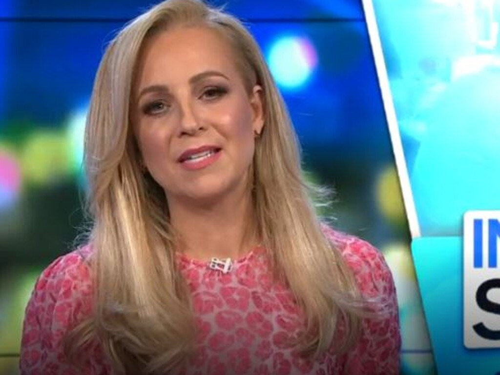 Carrie Bickmore got real about how she was feeling her first day back on The Project.